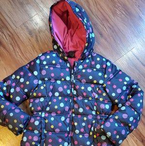 Girl's Puffer Coat Jacket